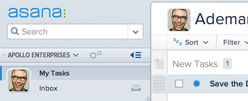 Screenshot 2 asana